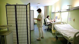 Oltás a zalaegerszegi Szent Rafael Kórházban
