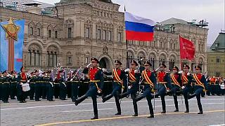 Russia's annual WWII victory parade in Moscow