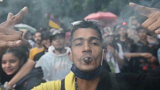 Manifestation à Medellin
