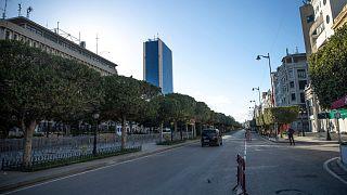 إغلاق وسط العاصمة التونسية