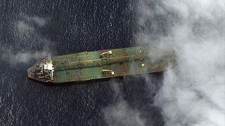 نفتکش ایرانی در آبهای سوریه(عکس آرشیوی)