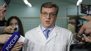 دکتر موراخووسکی، سرپرست تیم پزشکی ناوالنی در روسیه