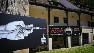 Impfung auf Schloss Bran