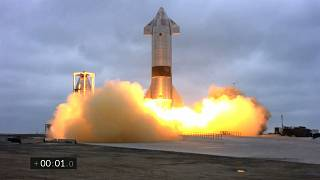 "إطلاق صاروخ Starship SN15 من قِـبل ""سبايس إكس""، بوكا تشيكا، تكساس، 5 مايو 2021"