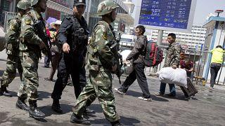 Uygur Sincan bölgesindeki Müslümanlar