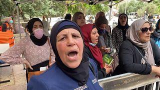 Une cinquantaine de Palestiniens blessés à Jérusalem-Est