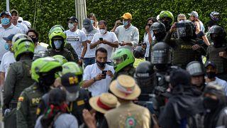 كولومبيا-تظاهرات