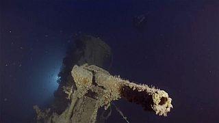 L'épave du HMS Urge, dans les eaux de Malte, le 3 mai 2021