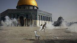 Violentos confrontos em Jerusalém