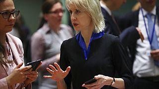 Çekya Başbakan Yardımcısı ve Maliye Bakanı Alena Schillerova.