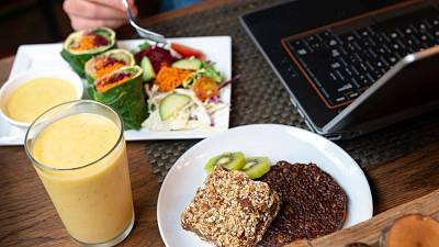 Eating a plant-based breakfast before work could alter your productivity completely