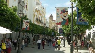 Die spanische Stadt Jerez de la Frontera ist für mehrere Wochen im Flamenco-Fieber