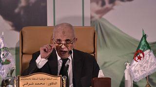 رئيس الهيئة الوطنية المستقلة للانتخابات محمد شرفي في 2 نوفمبر 2020.