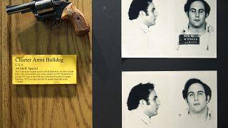 The gun used by David Berkowitz, New York, Tuesday, Dec. 8, 2015. (AP Photo/Seth Wenig)