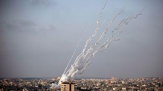 حمله راکتی از غزه به خاک اسرائیل