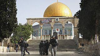 Συγκρούσεις στην Ιερουσαλήμ στην πλατεία των Τεμενών