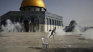 Die Al-Aksa-Moschee auf dem Tempelberg in Jerusalem