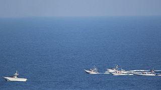 قایقهای تندرو سپاه پاسداران ایران