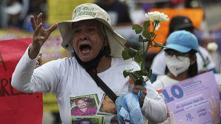 Miles de madres mexicanas reclaman justicia por los desaparecidos
