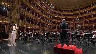 Concert à La Scala de Milan, 10 mai 2021