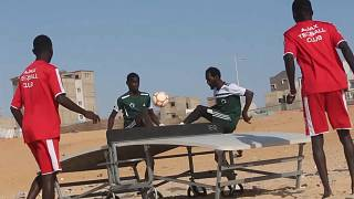 Senegal gambles on teqball to absorb leftover soccer talent