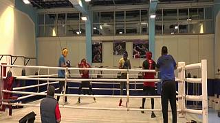 Egyptian boxers train hard for Olympics, hope to win medals