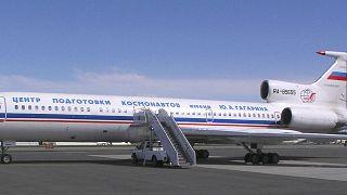 Tu-154 на аэродроме в штате Аляска, 2004 г. - Президент РФ внес в Думу законопроект о выходе России из ДОН