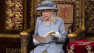 II. Erzsébet királynő a Lordok házában