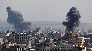Luftangriffe im Gaza-Streifen