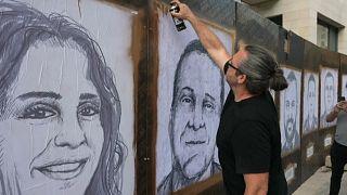 Artistas homenageiam vítimas de Beirute