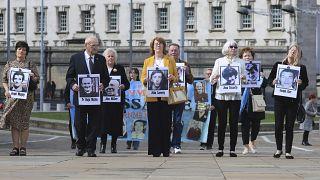 Родственники убитых в 1971 году демонстрантов