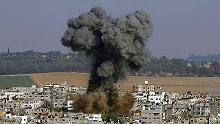 Israels Angriffe auf Gaza - nach Hamas-Raketen auf Israel