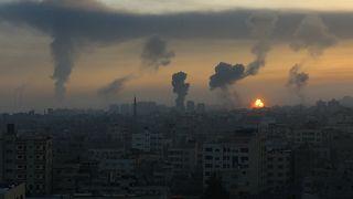 İsrail'in hava bombardımanı