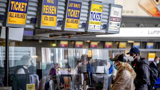 Europe virus outbreak - airports