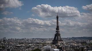 برج إيفل في باريس، فرنسا، 8 مايو 2021