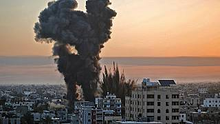 Gaza: Police Headquarters destroyed by Israel as fighting escalates