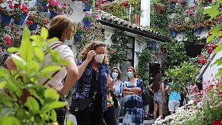 Fiesta de los Patios en Córdoba (España)
