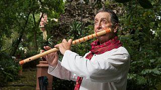 O mestre português da flauta, Rão Kyao, tem um novo disco