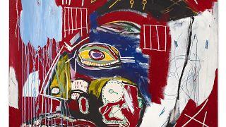 """Le tableau """"In This Case"""" de Jean-Michel Basquiat vendu pour 93,1 millions de dollars"""