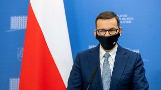 Mateusz Morawiecki lengyel miniszterelnök