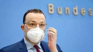 Jens Spahn német egészségügyi miniszter