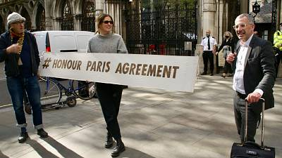 Activists say the UK's oil and gas regulations do not hold up their end of the Paris Agreement