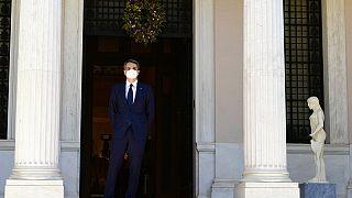 O Έλληνας πρωθυπουργός στο Μέγαρο Μαξίμου- εικόνα αρχείου