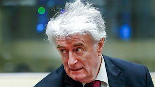 رادوان کارادزیچ در دادگاه لاهه
