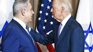 ABD Başkanı Joe Biden ve İsrail Başbakanı Benyamin Netanyahu (Arşiv fotoğraf)