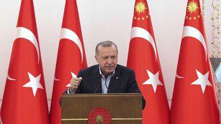 Erdogan elnök Ankarában