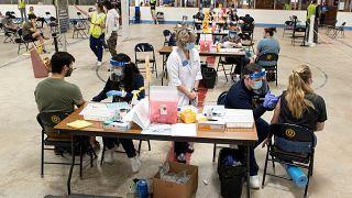 Ohio vaccination center
