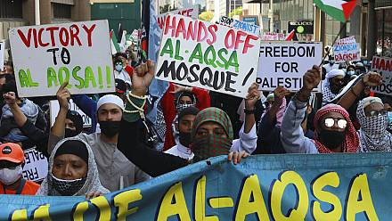 Around 2,000 march in Cape Town against Palestinian deaths