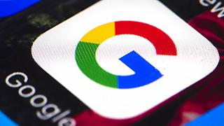 A Google ikonja egy okostelefonon