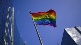 Le drapeau LGBT